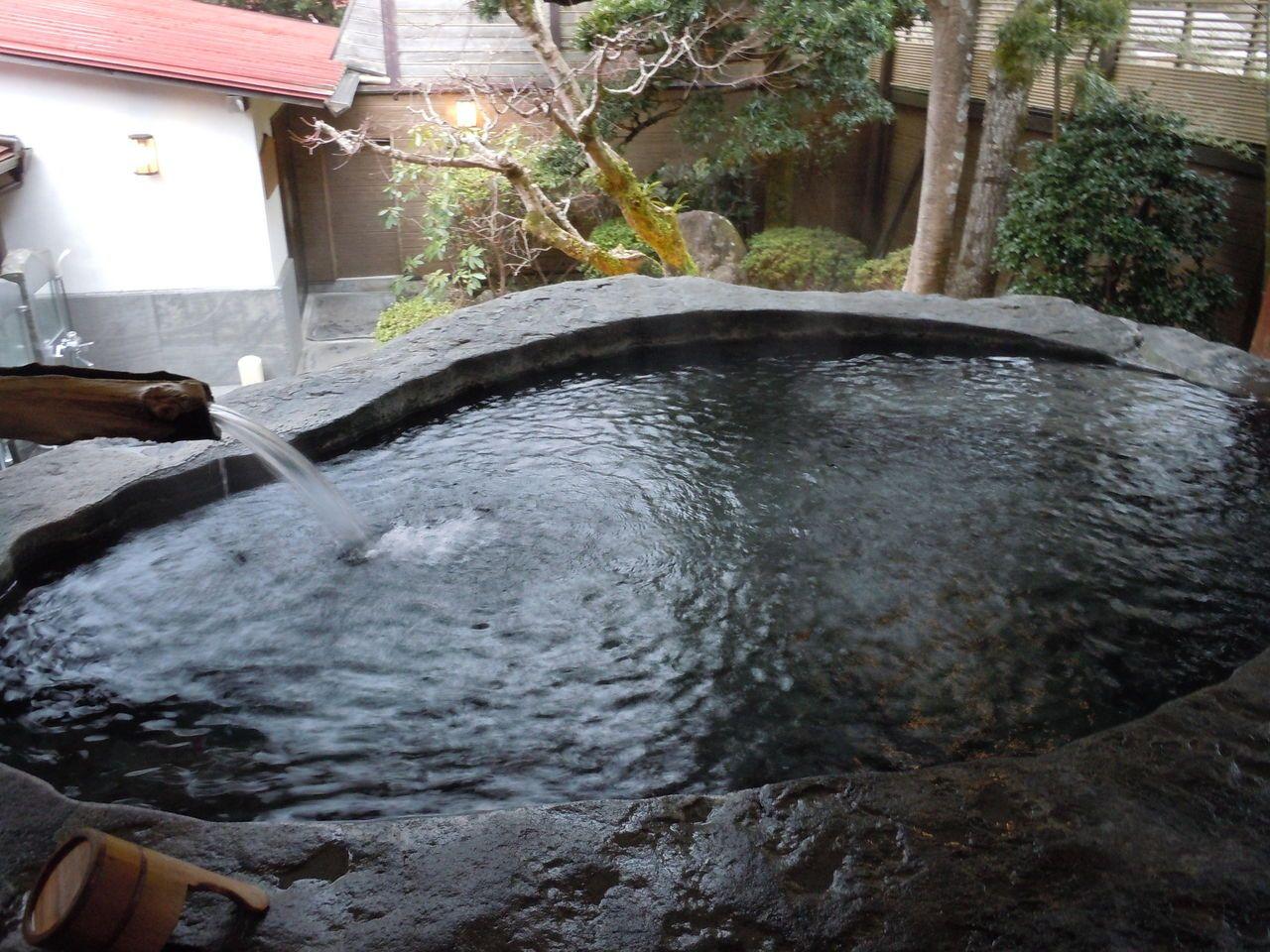 日本一の巨石風呂・巨木風呂がある老舗宿、伊豆天城湯ヶ島温泉「白壁荘」〜伊豆市〜
