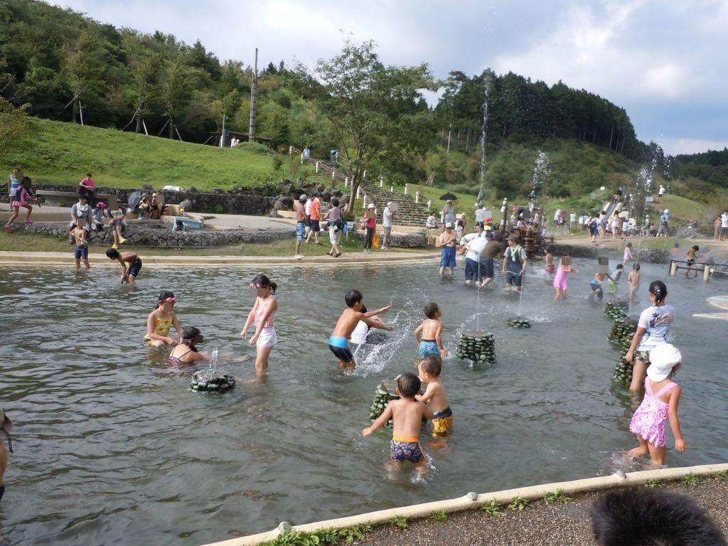 4.水遊び/富士山こどもの国