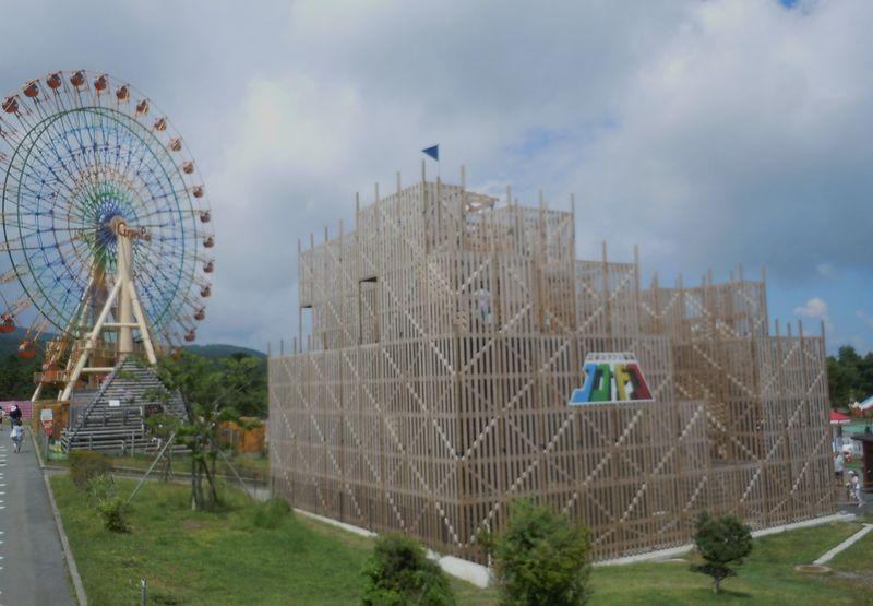 国内最大級の立体迷路がある遊園地「ぐりんぱ」〜裾野市〜