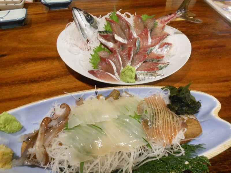 鮮度抜群!朝獲れの魚が食べられる熱海市・網代「味くらべ」