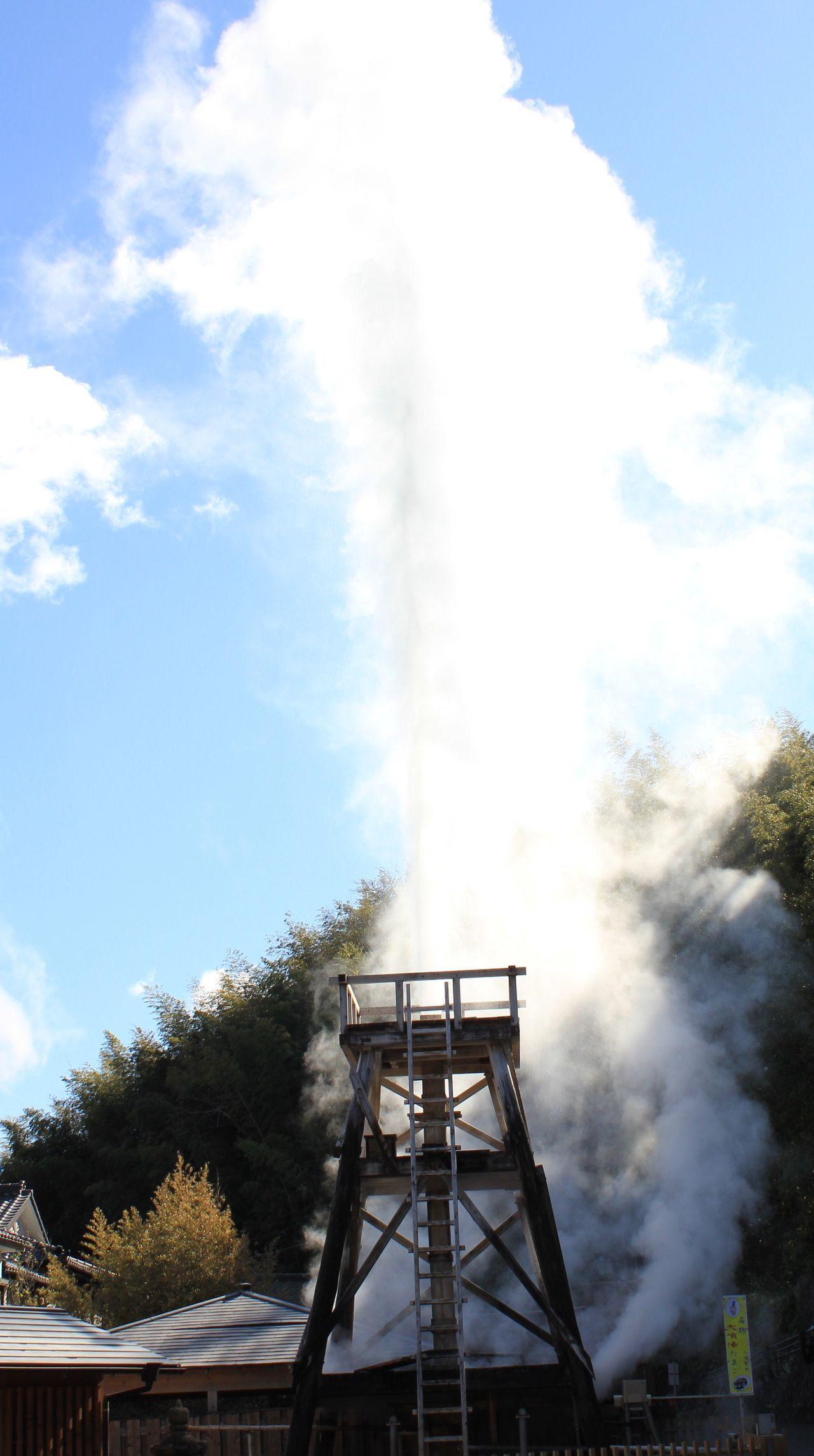 大迫力の温泉を丸ごと体感!伊豆・河津町「峰温泉大噴湯公園」