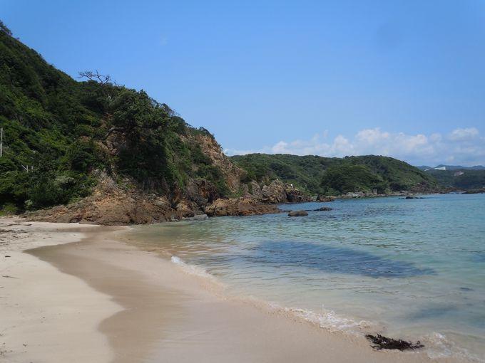 五感を刺激する砂浜