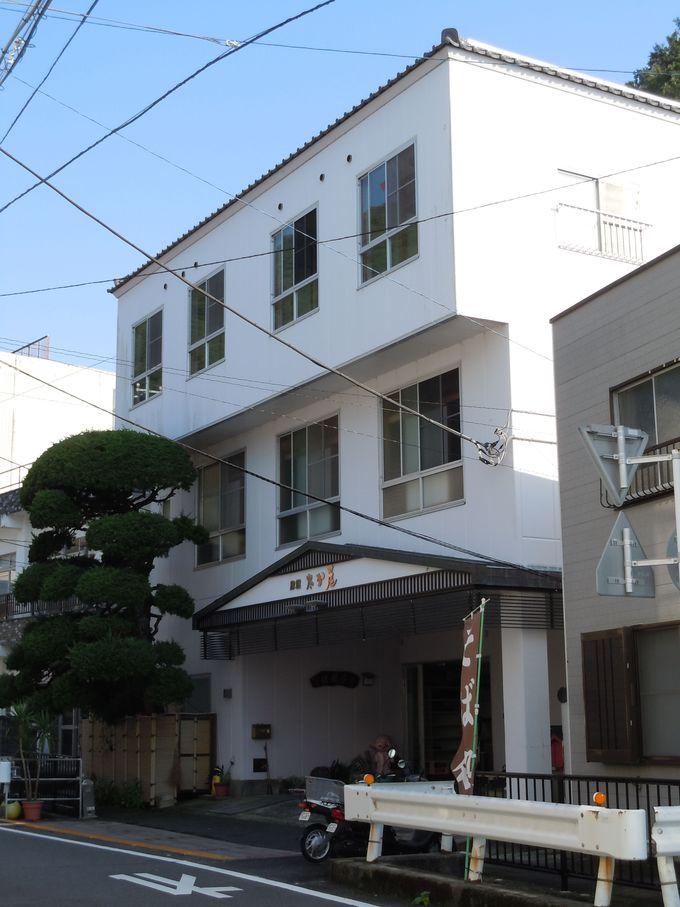 田子港近くの老舗旅館