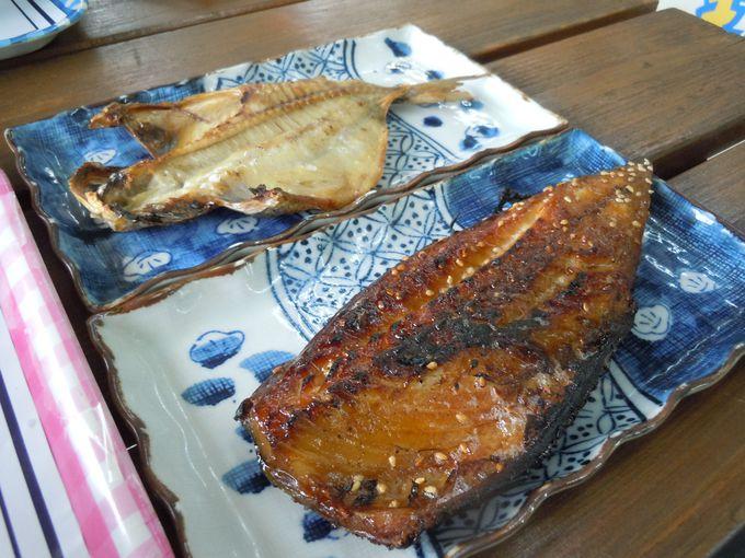 魚を知り尽くした職人自らが焼く、最高の干物定食!!
