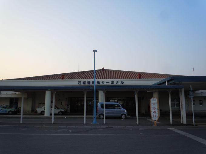 観光拠点に重要な要素!石垣港離島ターミナル!!