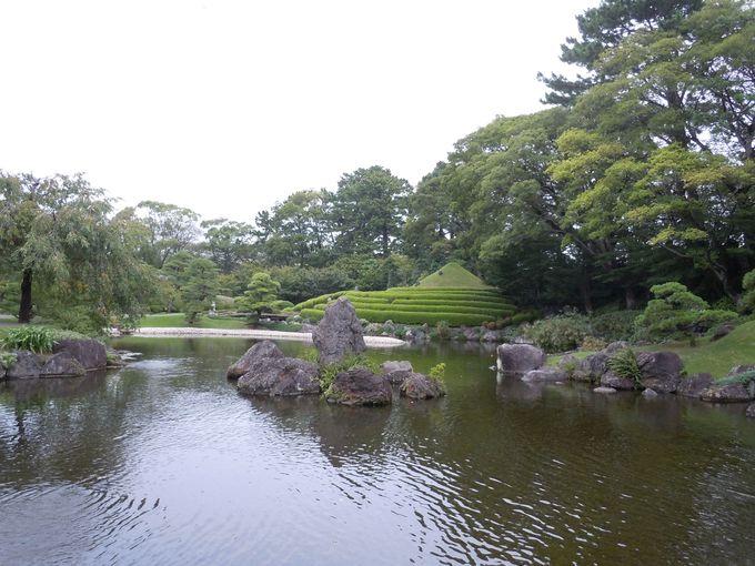 国の名勝を織り込んだ必見の美庭!「紅葉山庭園」