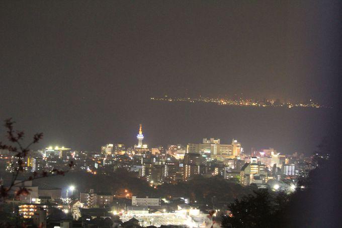 別府きっての圧倒的な美しい夜景が見られる!!