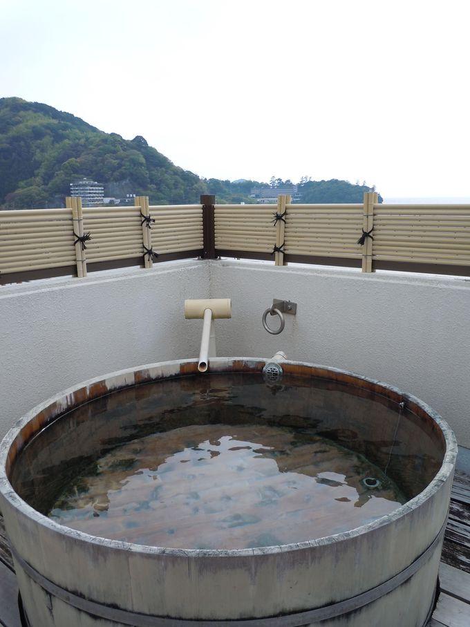 潮風が心地良い!展望温泉