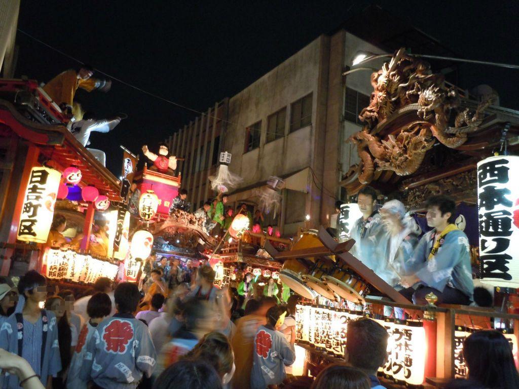 2日間限定!東海一の伝統行事「吉原祇園祭」〜富士市〜