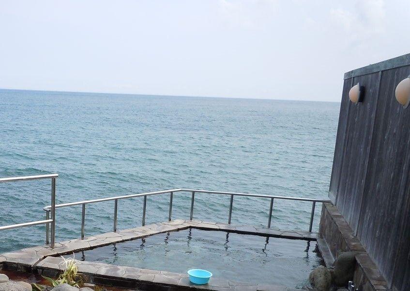 絶景のパノラマが見られる露天風呂!