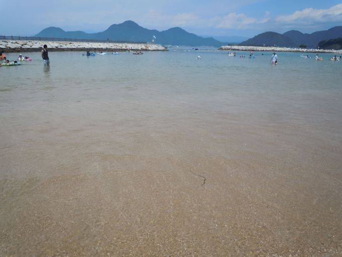 快適に海水浴が楽しめる!人気の理由はやっぱり水質