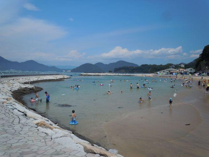 7.鍋田浜海水浴場/らららサンビーチ(静岡県)