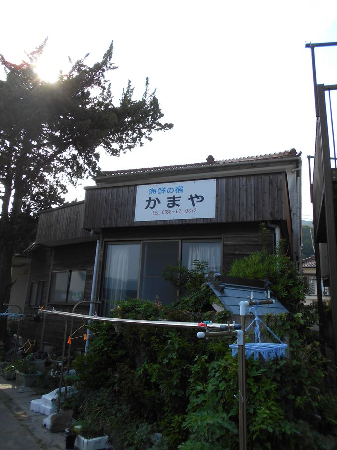 子浦海岸に佇む!温かい人情味あふれる宿