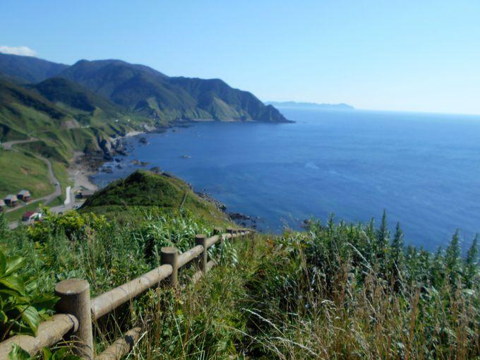 龍飛埼でじっくり景色を見たい方にお勧め!