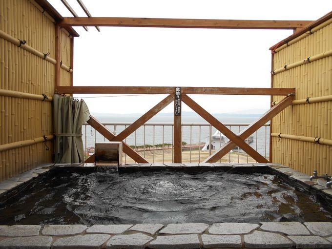 嬉しい!無料で何度でも入れる貸切露天風呂