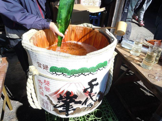蔵出しの新酒が飲めるっ!富士宮市「上野の里まつり酒蔵巡り」