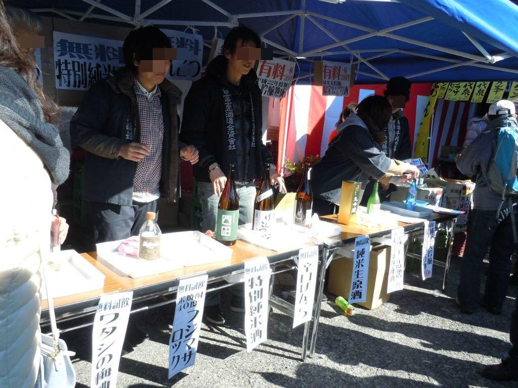 あなたはどの日本酒がお好み?飲み比べも楽しい試飲コーナー