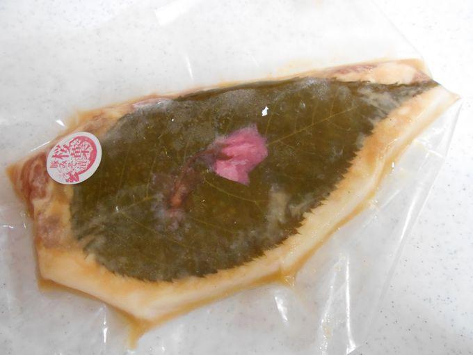 松崎土産の人気NO1!町が誇る桜葉を使ったバラエティーに富んだ銘菓