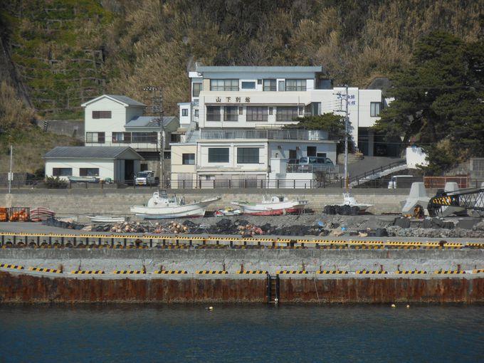 島で唯一の温泉宿!のんびり過ごせる「山下旅館別館」