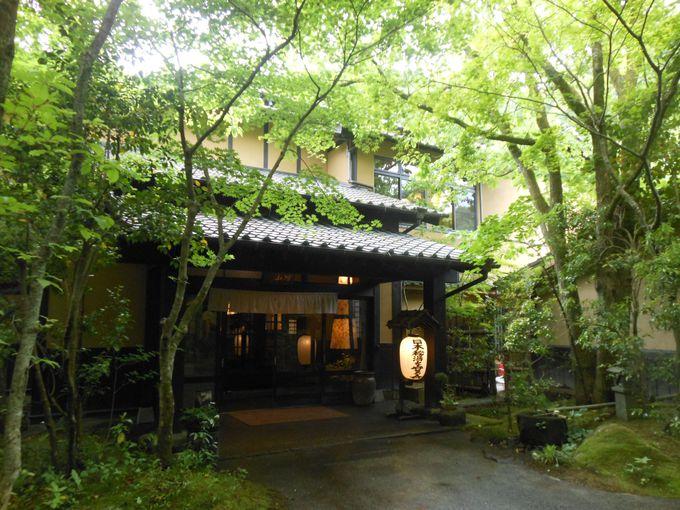 ありのままの自然に魅了される!大人気の温泉旅館「山河」