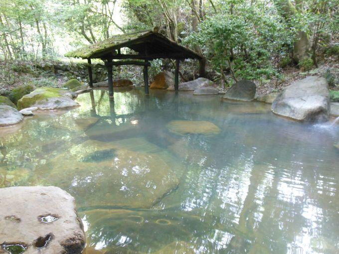 名湯にプラス!温泉の入り比べ&湯めぐりできる趣異なる湯