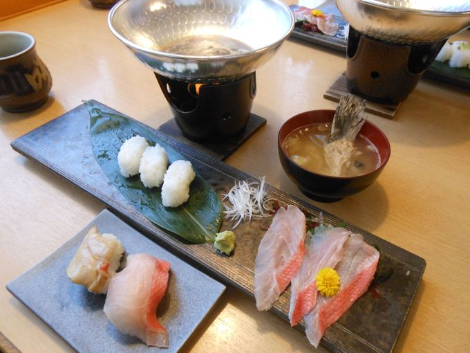 素材の味を引き出す!職人考案の美味しさ追及の「創作寿司」