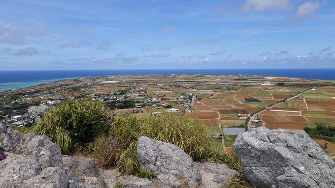島全体を見渡すことができる360度の眺望が♪
