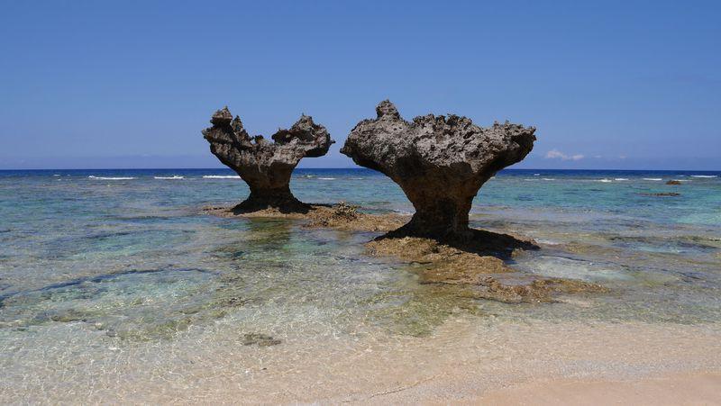 隠れビーチにハート!沖縄本島で見つけた絶景の海ベスト5 とっておきの穴場も!