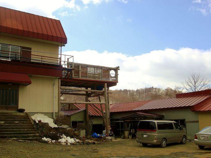 秘湯が多い福島県の中でも、指折りの「秘境温泉」
