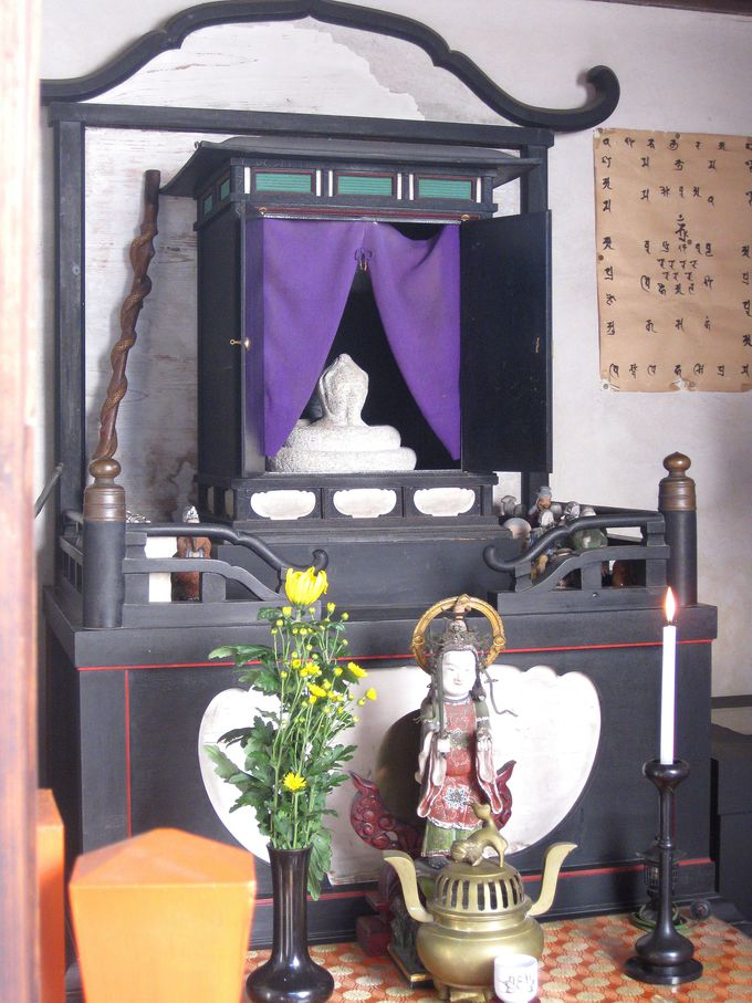土師氏や出雲と繋がりが?!弁天堂の神秘的なお姿をした秘仏『宇賀神像』