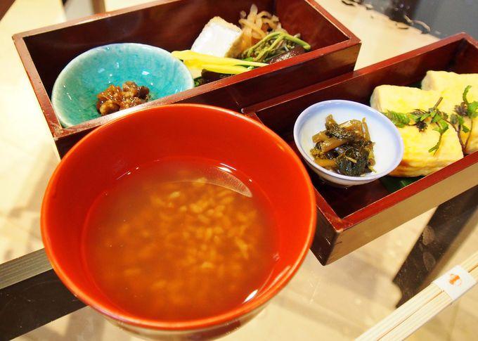 +2000円で「五條 源兵衛」の朝食を部屋食で楽しめる