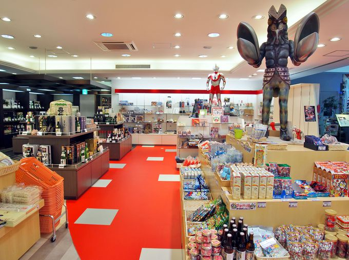 〈ポイント情報2〉須賀川市限定&福島県限定のウルトラマン商品&ウルトラ怪獣のお酒