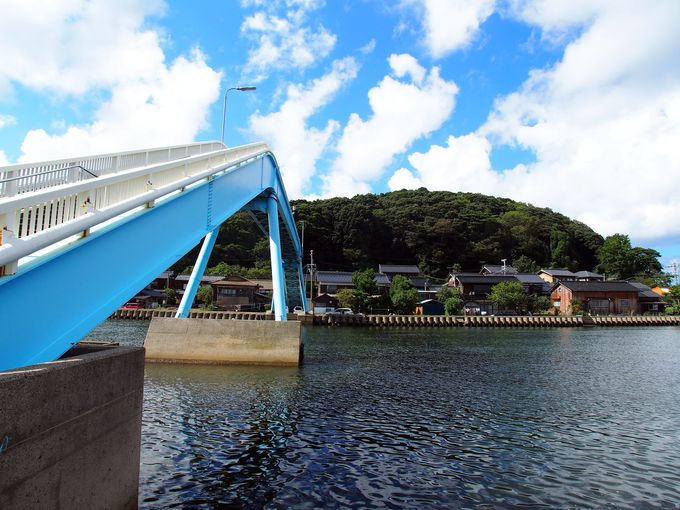 内海と外海を眺めよう!日間の架け橋湊宮(小天橋〜久美浜湾海岸線)