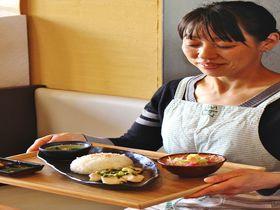 天から能面と一緒に降ってきた伝説のネギ!奈良県磯城郡川西町「カフェねぶっか」で結崎ネブカに舌鼓|奈良県|トラベルjp<たびねす>