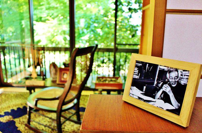 書斎とアトリエ