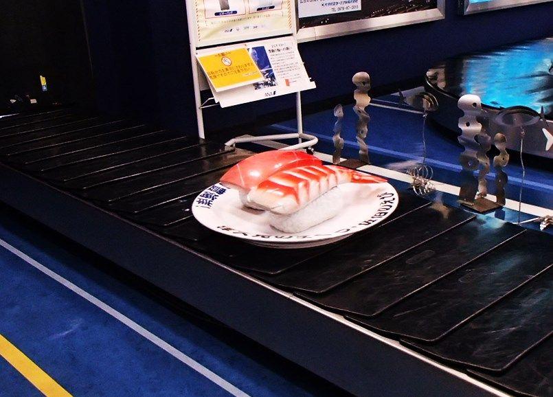 ポイント1:巨大寿司にびっくり!