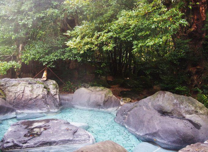 開湯1300年の秘湯「海潮温泉」は神話の湯
