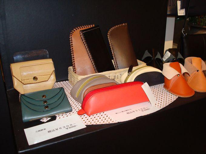 伝統の技術・色鮮やかな革製品の店〜中澤鞄