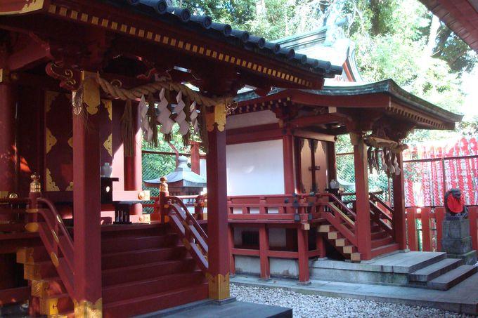 日枝神社の末社、猿田彦神社にもお参りを