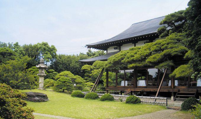 散歩したくなる、「舞子ホテル」の日本庭園