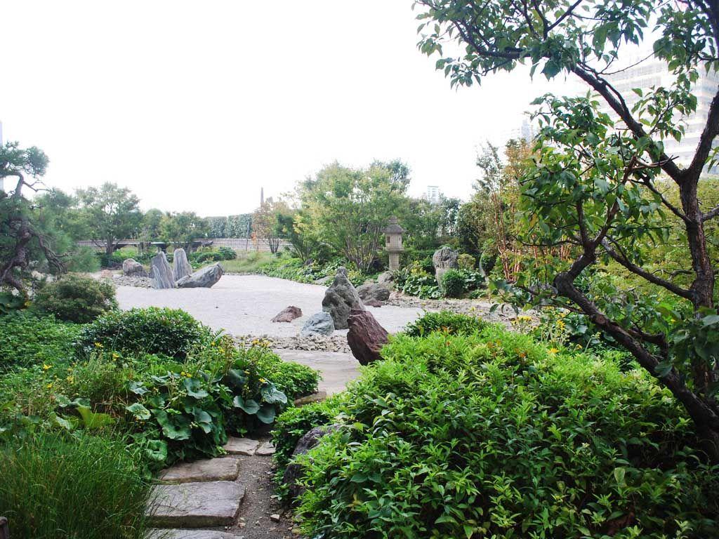 非日常な日本庭園でお散歩&ディナーはイタリアンで決まり!