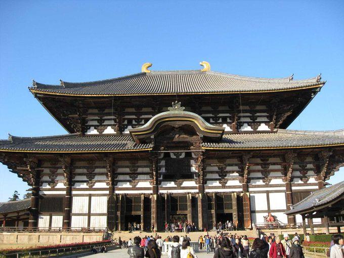 東大寺は、修学旅行以来です