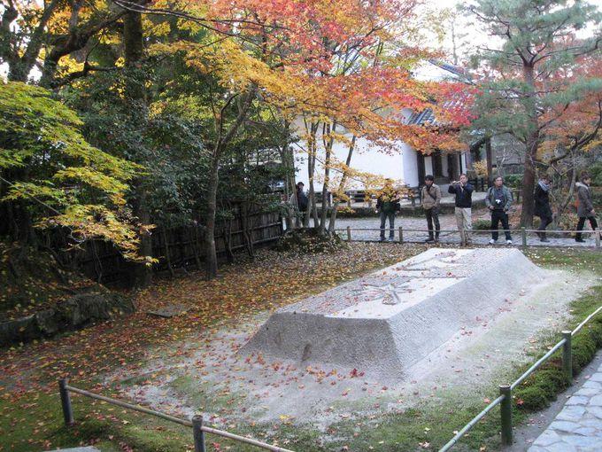 白砂壇は、秋模様