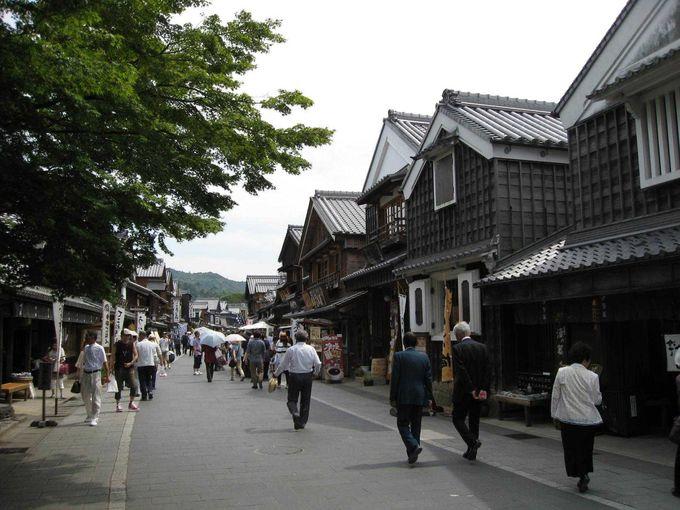 江戸時代風のレトロな町並み「おはらい町・おかげ横丁」で名物グルメを!