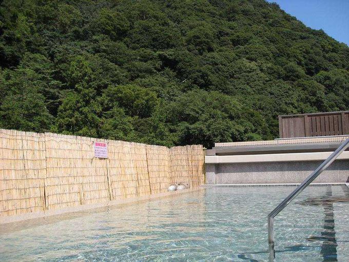 庭園にはパワースポット「玉簾の滝」がある「箱根湯本温泉 天成園」