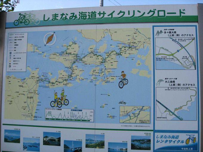 日本で初めての海峡を横断できるサイクリングロード