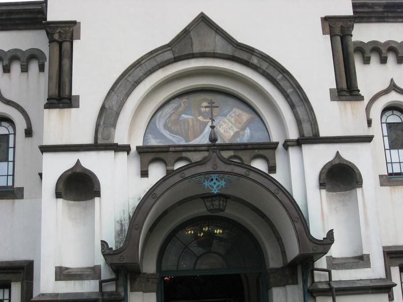 心が洗われる聖堂内の見学