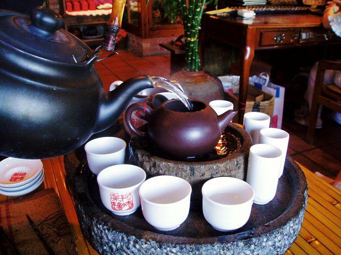 台湾茶で一服