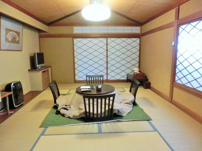 一つとして同じ部屋のタイプがない和モダンな客室