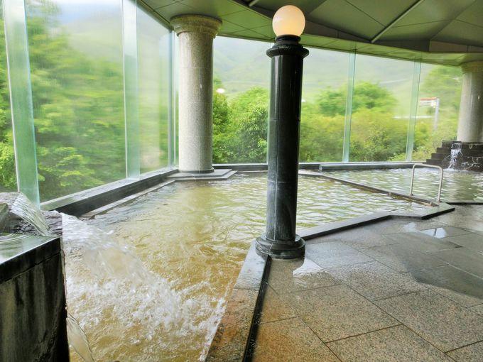 温泉は、疲労回復にも効果あり